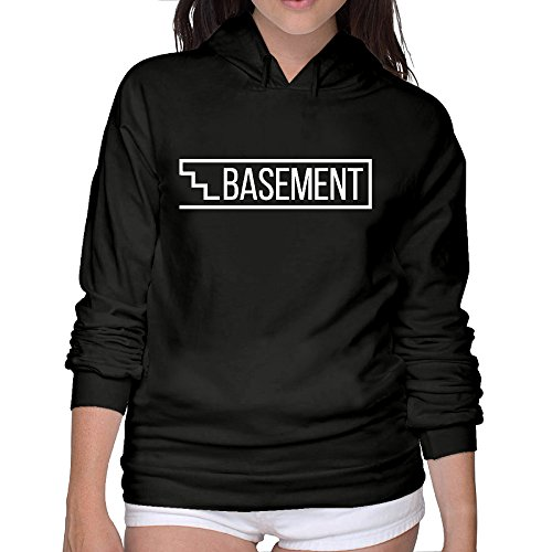 Cool Hoodies Basement Logo Sport Hoodie Tshirt Comfortable Woman's