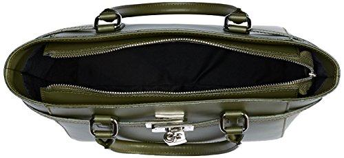 8807 Verde w Spalla Borsa Chicca L Cm A 36x24x13 Borse X Donna H 6OAZTBqTFw