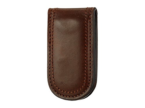 Bosca Men's Dolce Collection - Money Clip Dark Brown Money Clip
