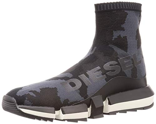 Diesel Men's H-padola High Sock-Sneaker Mid