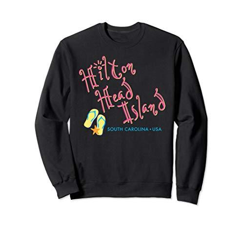 (Hilton Head South Carolina Flip Flop sweatshirt)