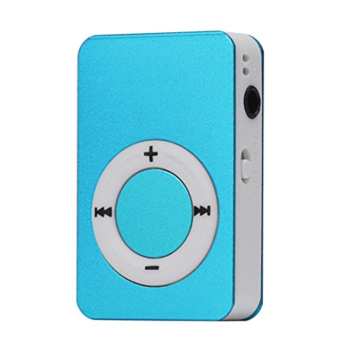 Start Mp3 Player Mini USB Digital Mp3 Music Player Support SD TF Card -Blue