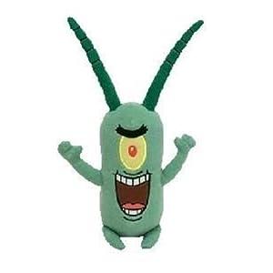 Amazon Com Ty Spongebob Squarepants Beanie Baby Sheldon J