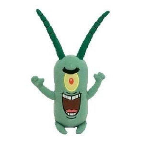 Ty Spongebob Squarepants Beanie Baby Sheldon J. Plankton