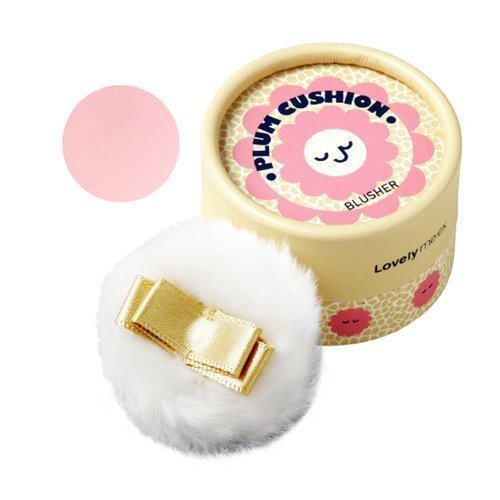 [THEFACESHOP] Lovely Meex Pastel Cushion Blusher 03, Long Lasting & Moisturizing Plum Cushion - 10g
