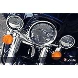 "Truck-lite 7"" & 4-1/2"" Led Headlight Drive Light Set Harley-Davidson Touring"