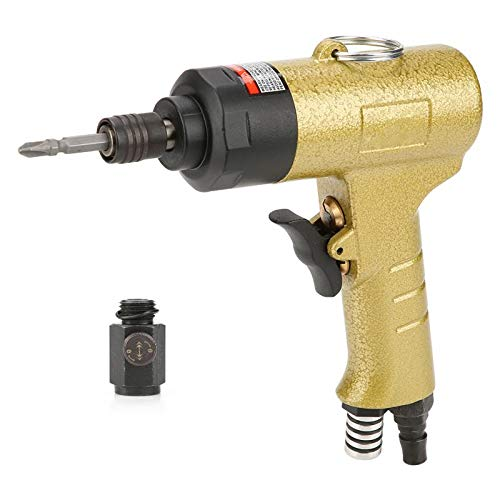 Screwdriver - 1 4 Quot Pneumatic Air Screwdriver Reversible Type Industrial Screw Driver 8000rpm 5000rpm - Pump Parts American Bits Brush Armature Airbrush Impact Right Adapter Heavy Wr