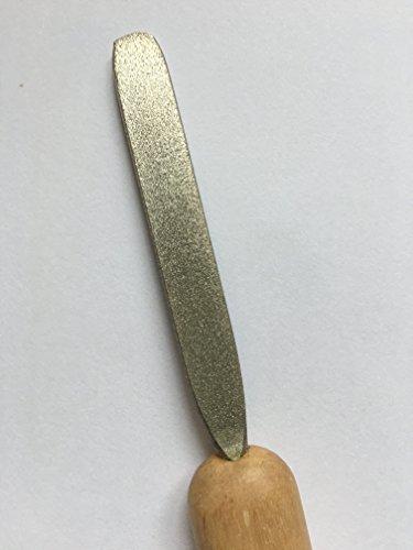 Diamond Coated Flat File 180 Medium Filing Grit File by BHD (Image #4)