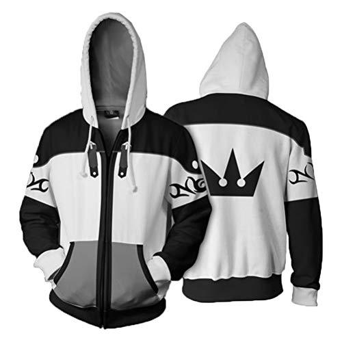 Pardobed Kingdom Hearts Cosplay Costume Adult Unisex Hoodies Jacket
