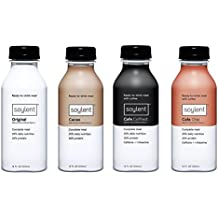 Soylent Bundle: Original, Cacao, Chai  & Coffiest Flavors, Nutritionally Complete Ready to Drink Beverage, 14 oz, 1 Bottle Per Flavor