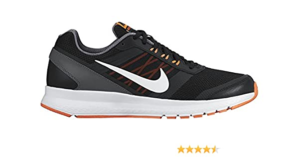 fa423a534b Nike Air Relentless 5, Zapatillas de Running para Hombre, Negro/Blanco/Naranja/Gris  (Black/White-Hypr Orng-Drk Gry), 39 EU: Amazon.es: Zapatos y ...