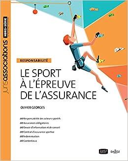 Amazon Fr Le Sport A L Epreuve De L Assurance Nouveaute