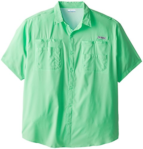 Columbia Sportswear Men's Tamiami II Short Sleeve Shirt, Chameleon Green, X-Large