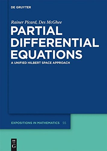 Partial Differential Equations: A unified Hilbert Space Approach (de Gruyter Expositions in Mathematics)