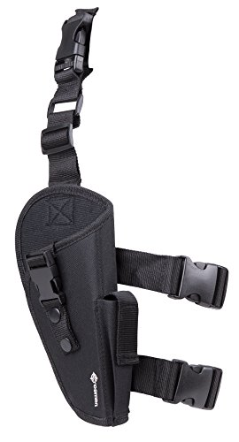 Crosman-AirSoft-Leg-Holster-Black