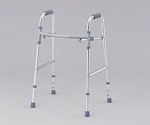 ナビス(アズワン)0-4448-01ワンタッチ折りたたみ歩行器(固定型) B07BD2X7GS