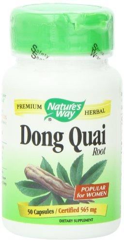 Nature's Way Dong Quai Root , 565 mg, 50 Capsules