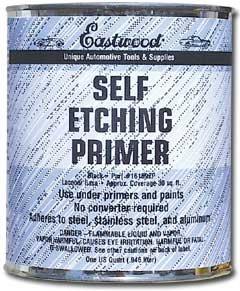 Eastwood Self Etching Etch Primer Black - 1 Qt