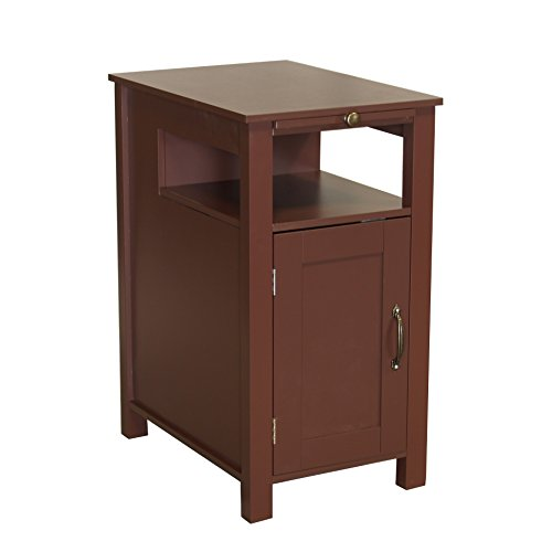 Proman Products ST17010 Irwin Color Home Furniture Side Table with Shelves, 14
