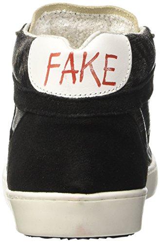 Unisex A Fake crosta – Nero Nero By Piombo Alto Chiodo Sneaker Collo laminato Adulto 098 Mid rrTqwx