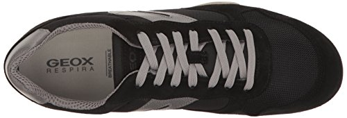 Men's Black Geox Black Grey Geox Men's H5POq