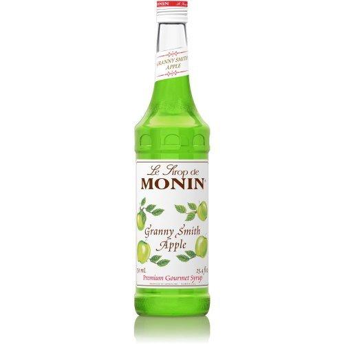 Price comparison product image Monin Apple - Granny Smith Apple Syrup, 750 Ml