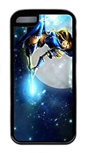 iphone 5s Case, iphone 5s Cases - Durable Protective Black Soft Rubber Back Case for iphone 5s Luxanna Lux Crownguard League Of Legends Utral Slim Soft Back Bumper Case for iphone 5s