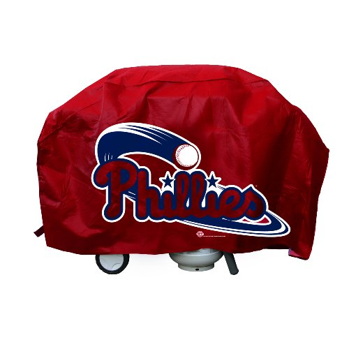 (MLB Philadelphia Phillies Deluxe 68-inch Grill Cover)