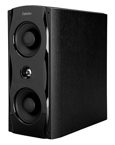 Definitive Technology StudioMonitor 65 Bookshelf Speaker Black