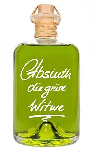 Absinth Die Grüne Witwe 1L Mit maximal erlaubtem Thujongehalt 35mg/L 55% Vol.