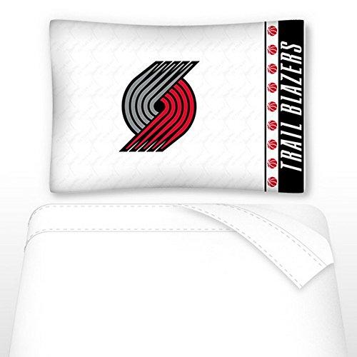 NBA Portland Trail Blazers Not Applicabe, White, Twin