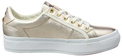 Rose Astrid Pink Mujer para NAPAPIJRI Gold Footwear Zapatillas 1qYFwT8a