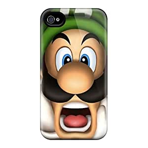 For Iphone 4/4s Protector Case Luigi Phone Cover