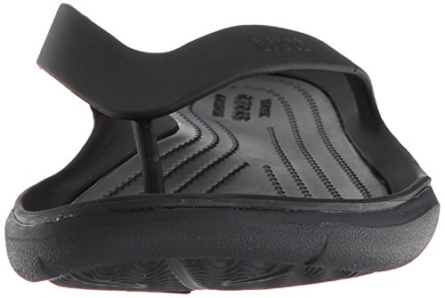 Femme black 060 Tongs Crocs Women Swiftwater black Noir Flip wqnRHz