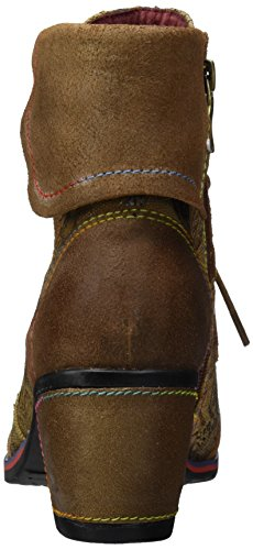 Femme Vita Camel 01 Laura Classiques Rot Christie Bottes n4FWnaX70