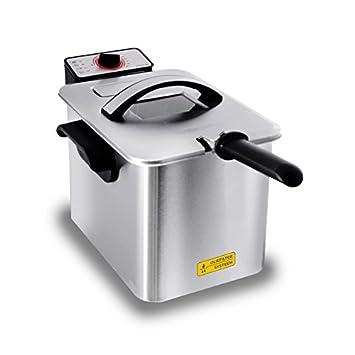 Inventum GF645F Solo Independiente - Freidora (Freidora, 4 L, 0,8 kg, 4 L, 190 °C, Solo): Amazon.es: Hogar