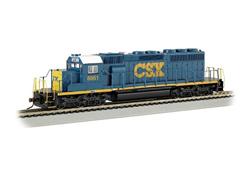 Emd Sd40 2 (Bachmann Industries Emd SD40-2 DCC Equipped HO Scale #8861 CSX Dark Future Locomotive)