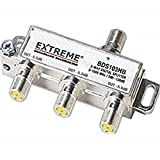 Extreme 3 Way Balanced HD Digital High Performance 5-1002MHz Coax Cable Splitter - BDS103HB (5.5 dB / 5.5 dB / 5.5 dB out), Model: EL-UDON-88151, Electronic Store