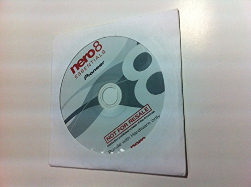 Nero 8 Essentials Pioneer Multimedia Suite DVD Burning Software (OEM (Multimedia Software)