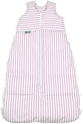 blanc//rose peut /être r/éduit /à 120/cm et 110/cm design /à rayures ARO ARTL/ÄNDER 87590/Sac de couchage duvet 130/cm