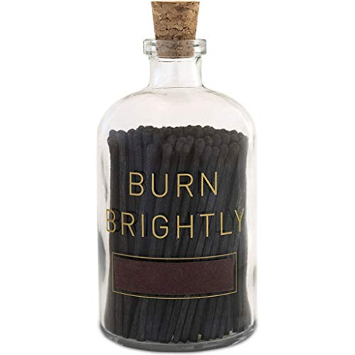 Skeem Designs Apothecary Large Match Bottle - Burn Brightly