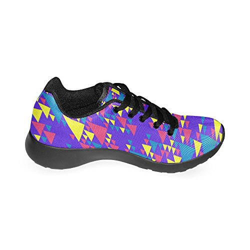 Negro Zapatillas Zenzzle Running Para de Negro de Mujer Lona 8PqTPdpr