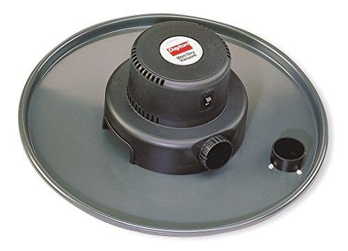 Wet/Dry Vacuum Head, 3 HP, 55 gal, 120V ()