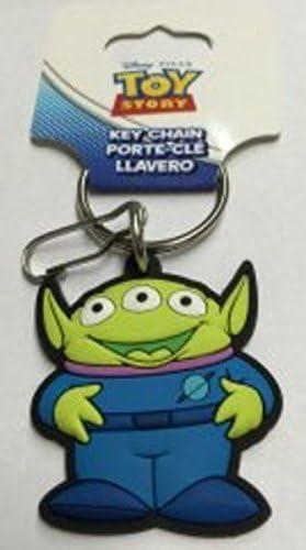 Amazon.com: Plasticolor Toy Story Alien Rubber Keychain ...