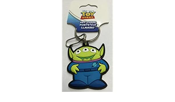 Amazon.com: Plasticolor Toy Story Alien Rubber Keychain ...