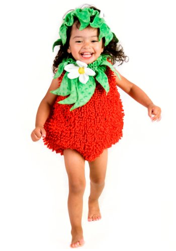 (Princess Paradise Baby Girls' Suzie Strawberry Deluxe Costume, red)