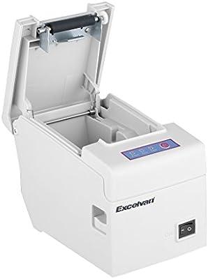 Excelvan E58 - Impresora térmica de recibos y tickets (58 mm, 130 ...