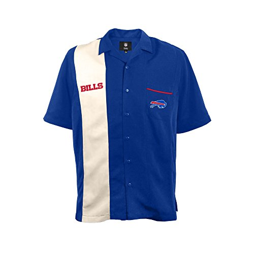 NFL Buffalo Bills Strike Bowling Shirt, XL
