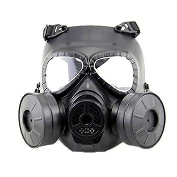 H mundo UE Airsoft deportes al aire libre táctico Paintball máscara de cara completa cráneo CS