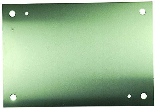 A-16P14AL - Panel, 0.080 2mm thick, Aluminium, White, Junction Boxes, 375 mm, 327 mm (A-16P14AL)
